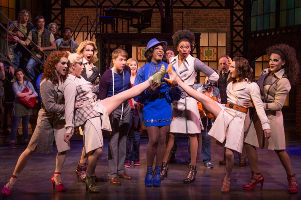Drag Queens Cassie O'Hara and Anita Goodmann on 'Kinky Boots'