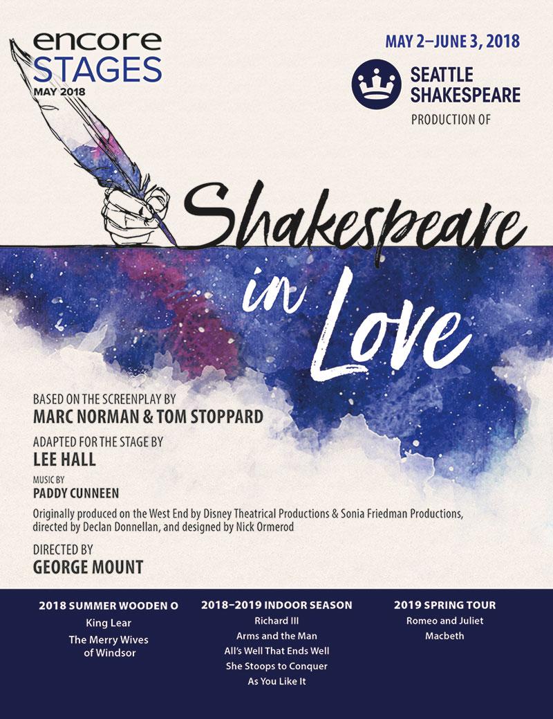 Seattle Shakespeare - Shakespeare in Love