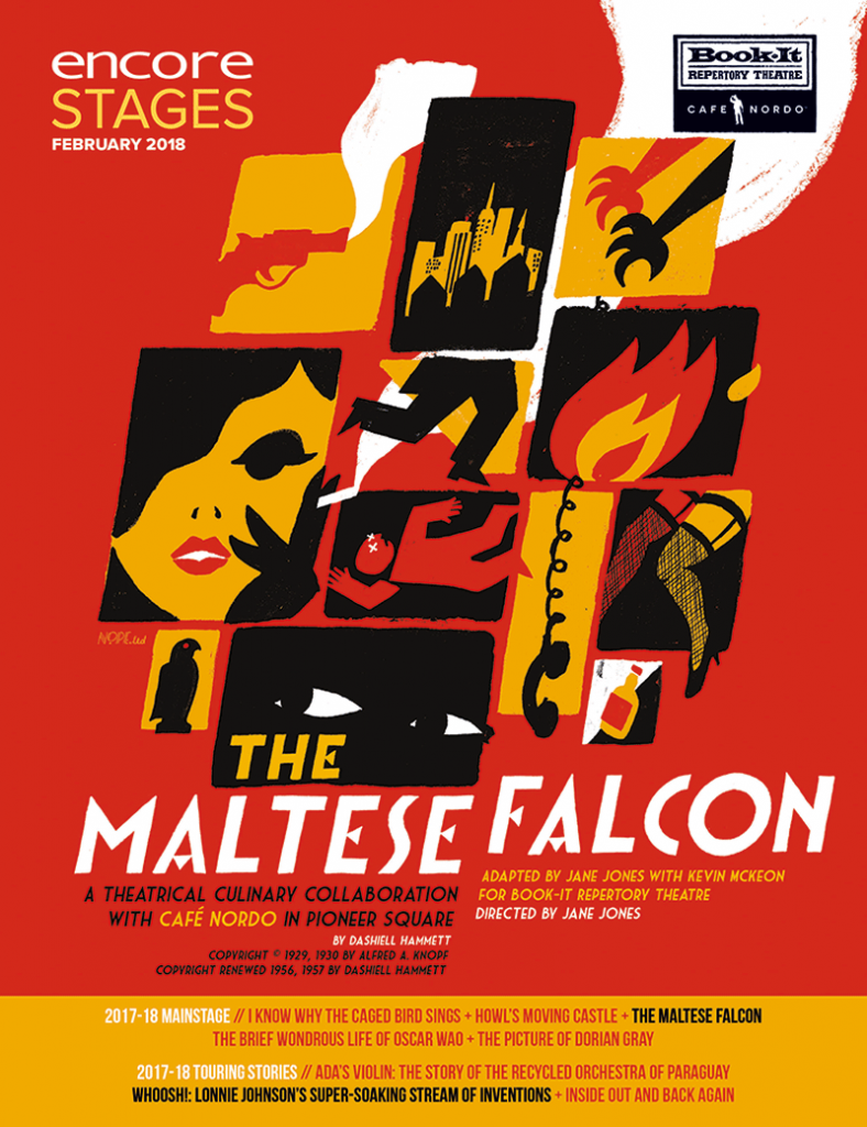 Book-It - The Maltese Falcon