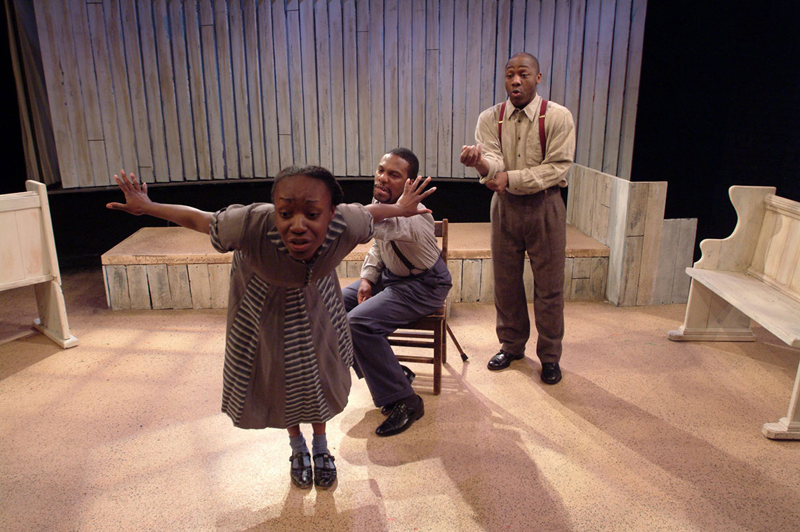 Cast in the 2003 production of I Know Why the Caged Bird Sings