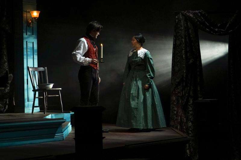 Ross Destiche and Mi Kang in Jane Eyre