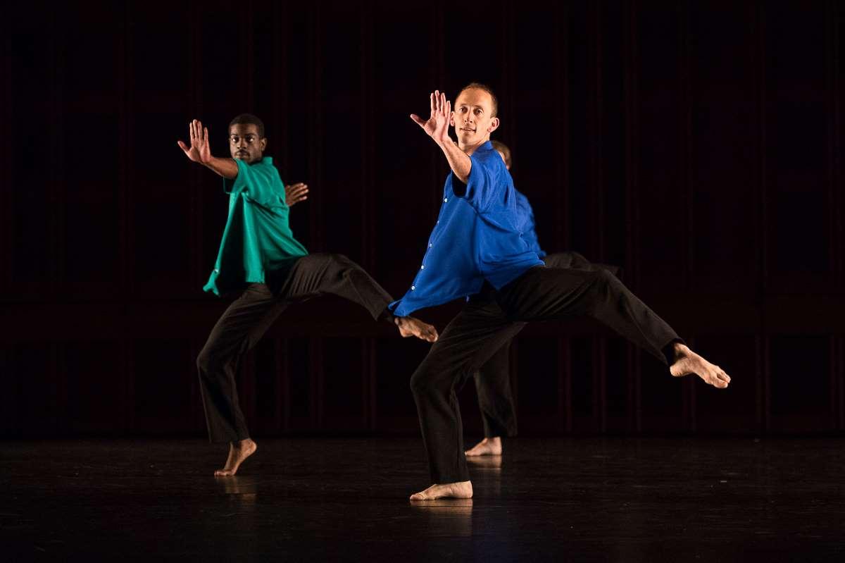 """Mark Morris Dance Group dancing in """"Numerator"""""""