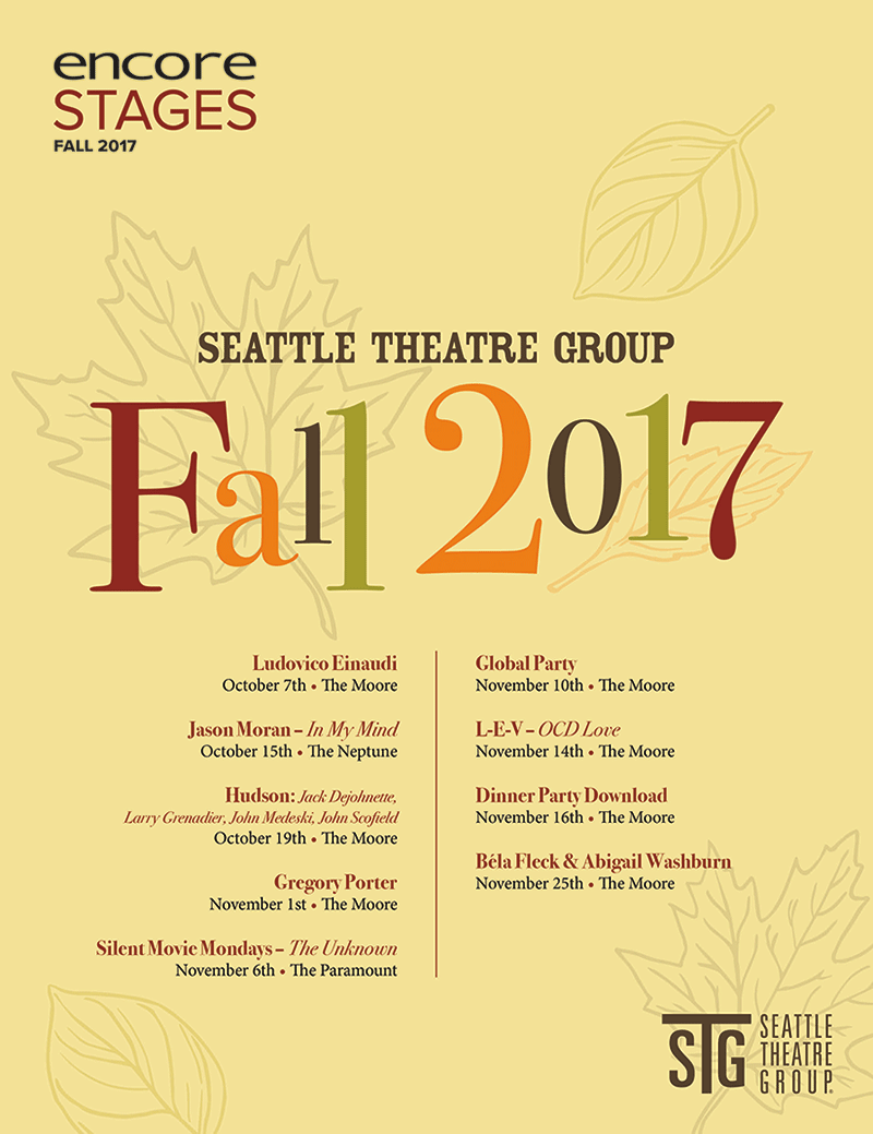 Seattle Theatre Group - Fall 2017