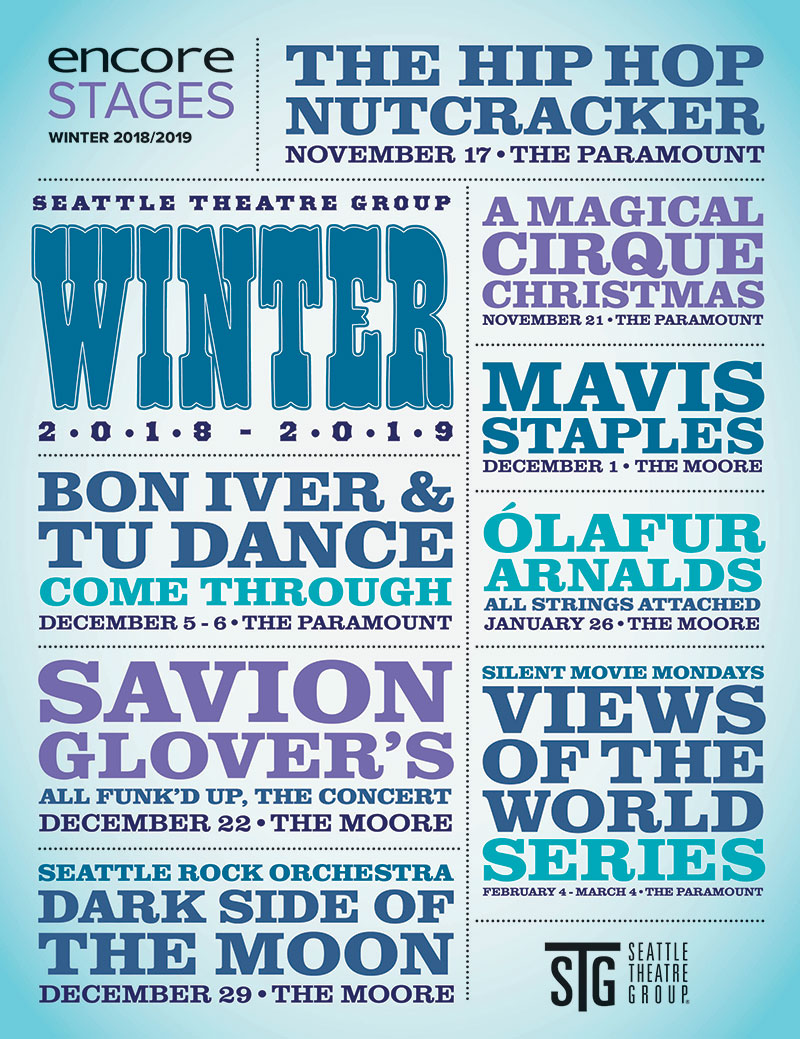 Seattle Theatre Group - Winter 2018-19