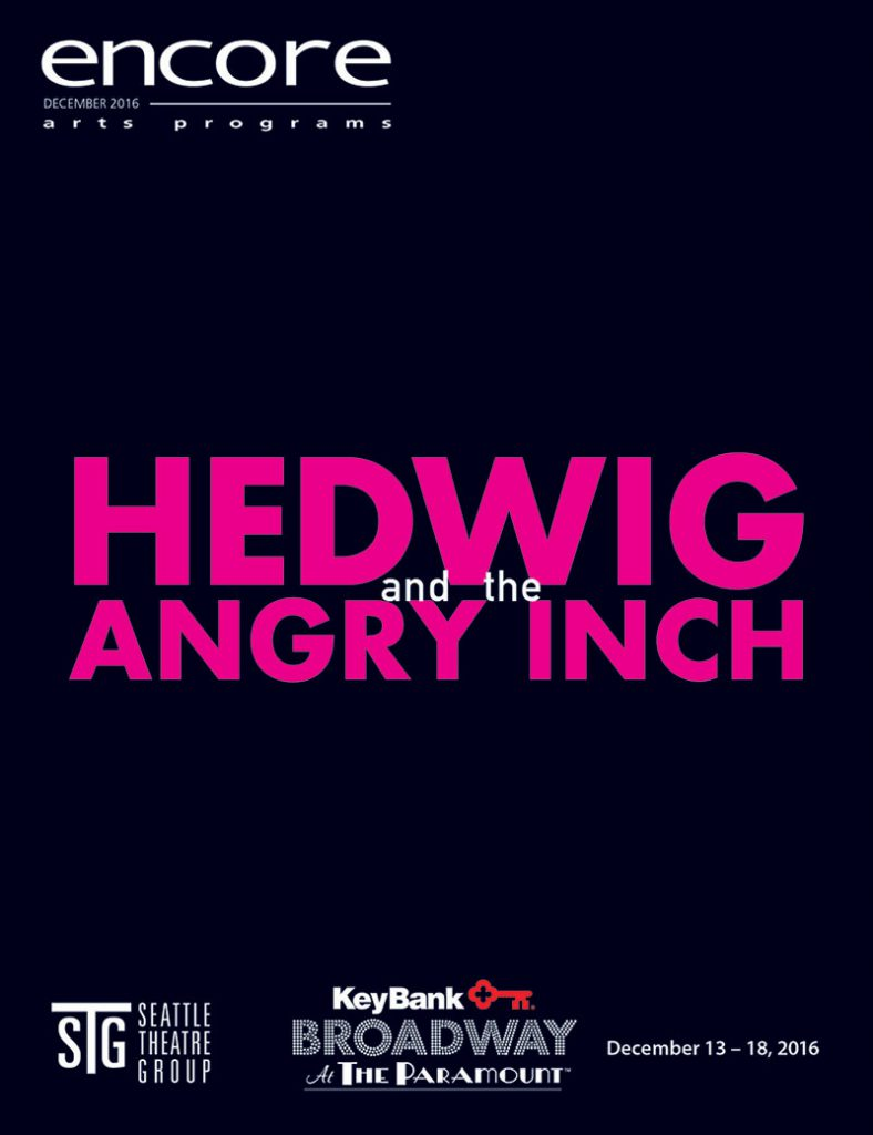 Broadway at the Paramount - Hedwig and the Angry Inch