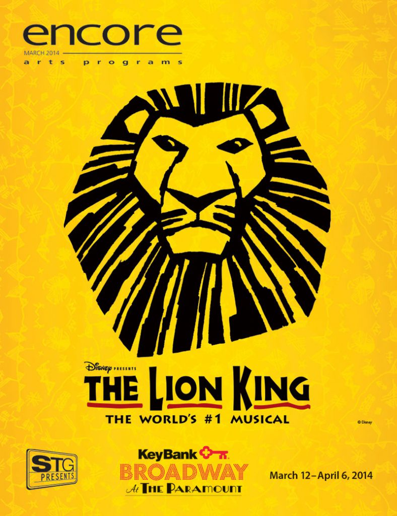Broadway at the Paramount - The Lion King