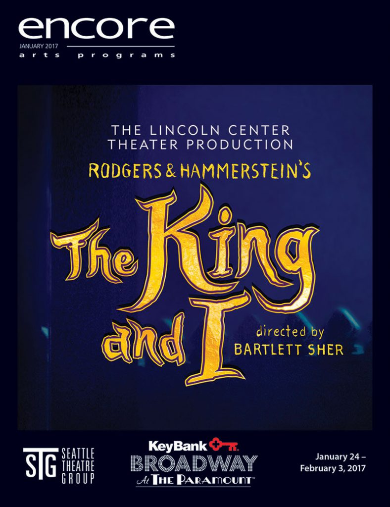 Broadway at the Paramount - The King and I