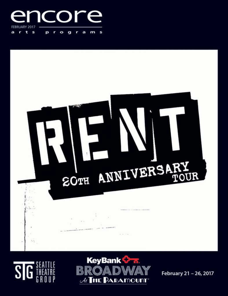 Broadway at the Paramount - Rent 20th Anniversary Tour