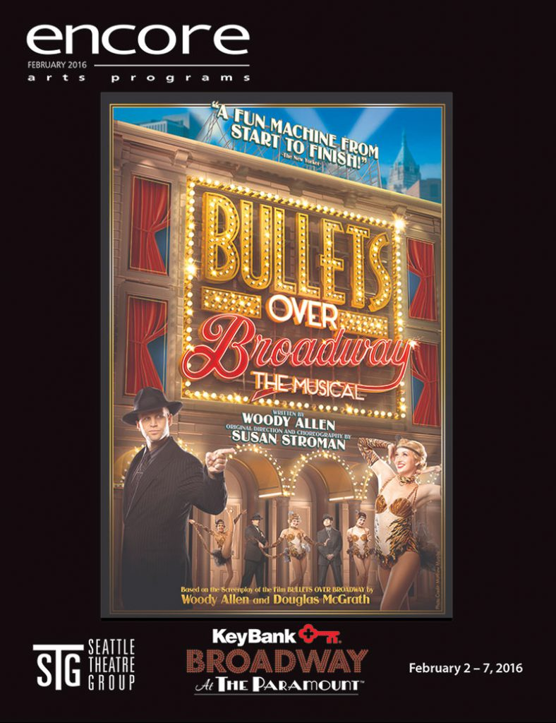 Broadway at the Paramount - Bullets Over Broadway