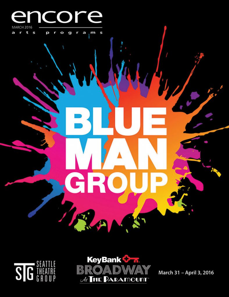 Broadway at the Paramount - Blue Man Group
