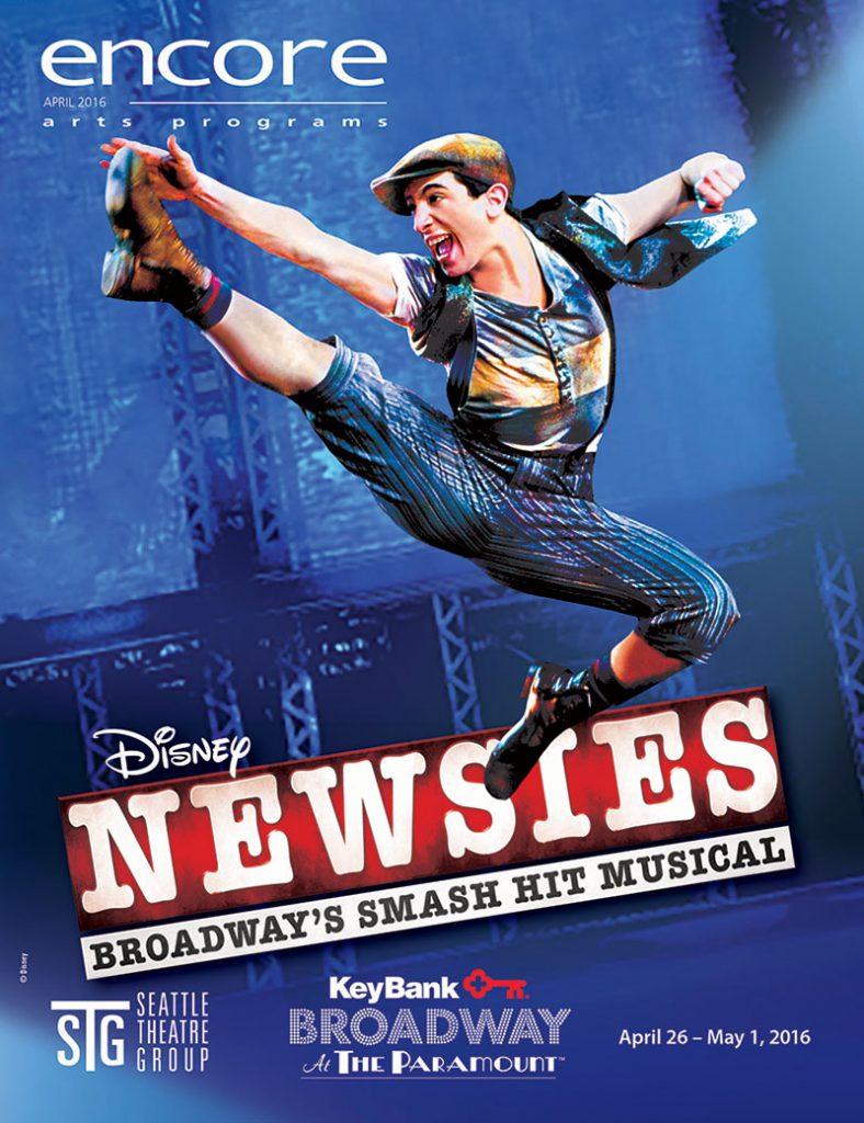 Broadway at the Paramount - Newsies