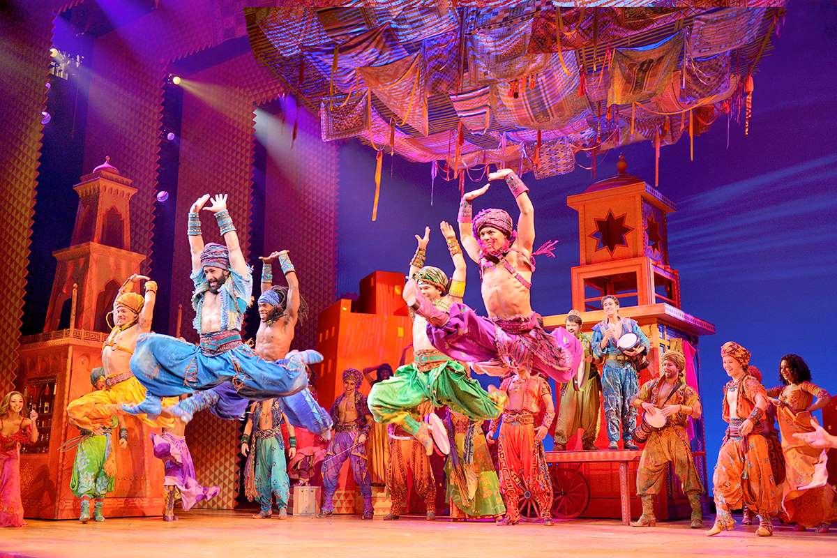 Broadway touring cast of Aladdin.