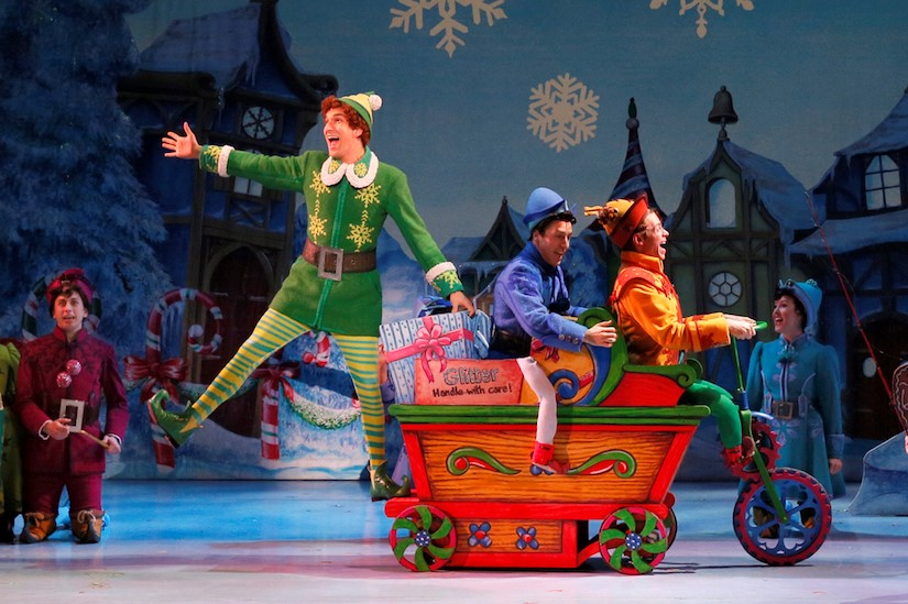 Broadway touring company of Elf, the Musical