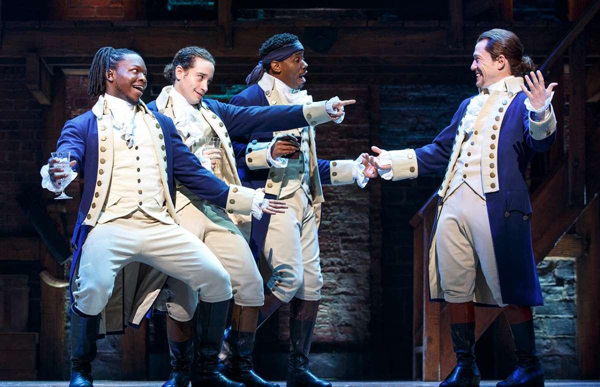 Chris DeSean, Lee Jose-Ramos, Wallace Smit and Miguel-Cervantes in Hamilton