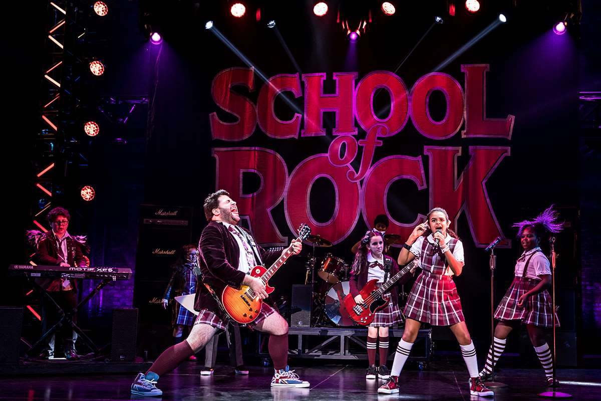 Broadway touring cast of School of Rock