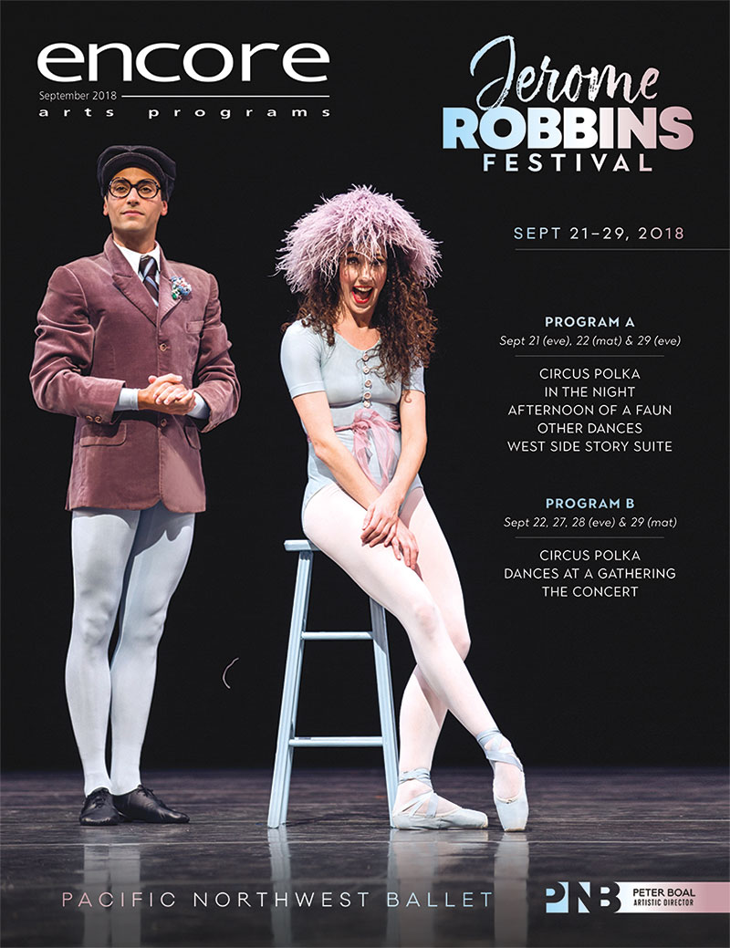 Pacific Northwest Ballet - Jerome Robbins Festival
