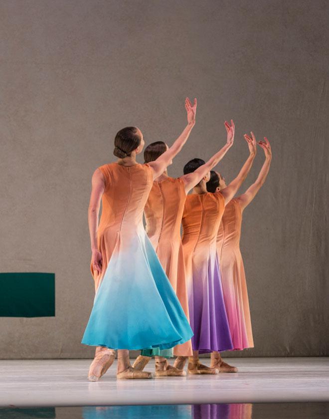 Company dancers in Jessica Lang's Her Door to the Sky