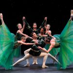 Company dancers in Emeralds