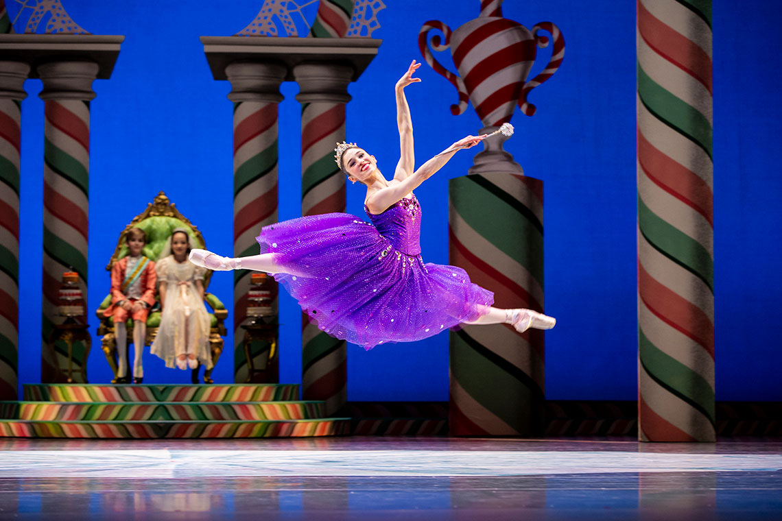 Leta Biasucci in George Balanchine's Nutcracker