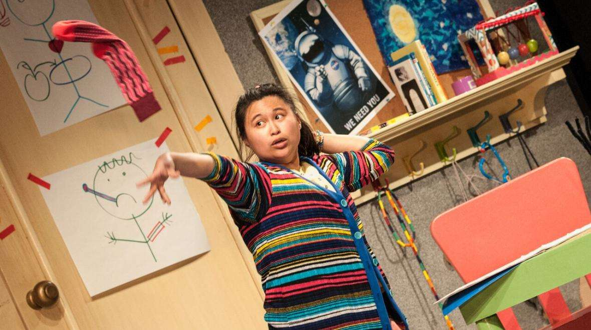 Annelih GH Hamilton in SCT's The Lamp is the Moon.