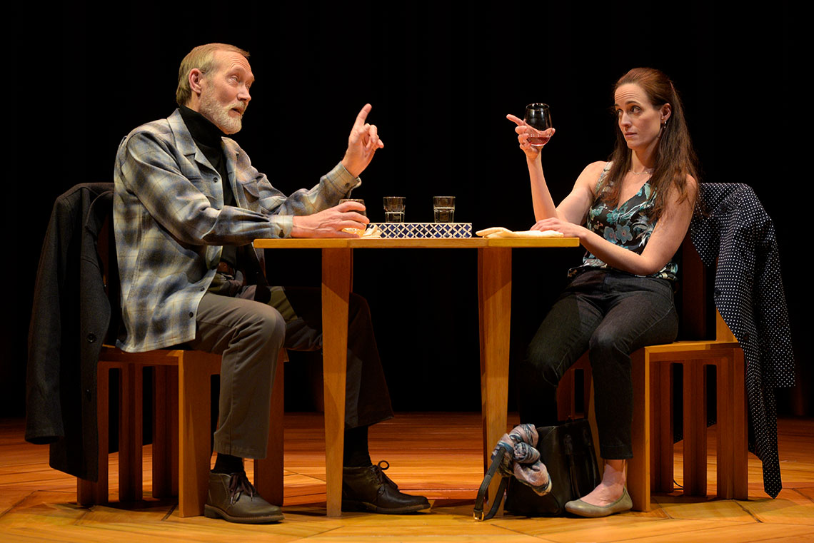 Alex James Carpenter and Sarah Grace Wilson in Heisenberg