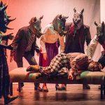 Birdbath Theatre's 2017 production of Rhinoceros