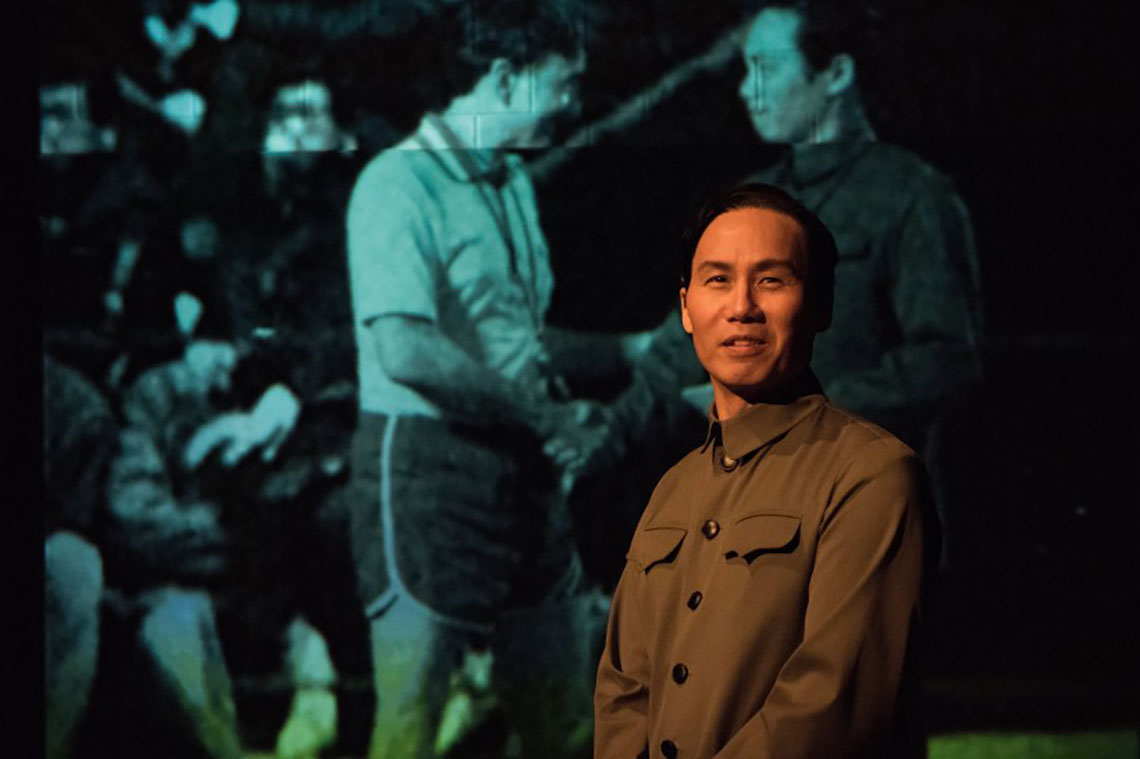 BD Wong in the Atlantic Theater Company Production of The Great Leap