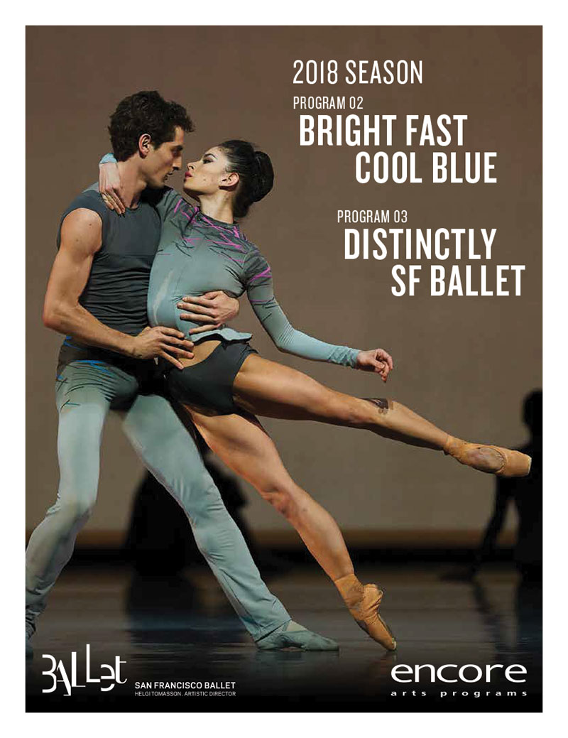 SF Ballet - Bright Fast Cool Blue - Distinctly SF Ballet