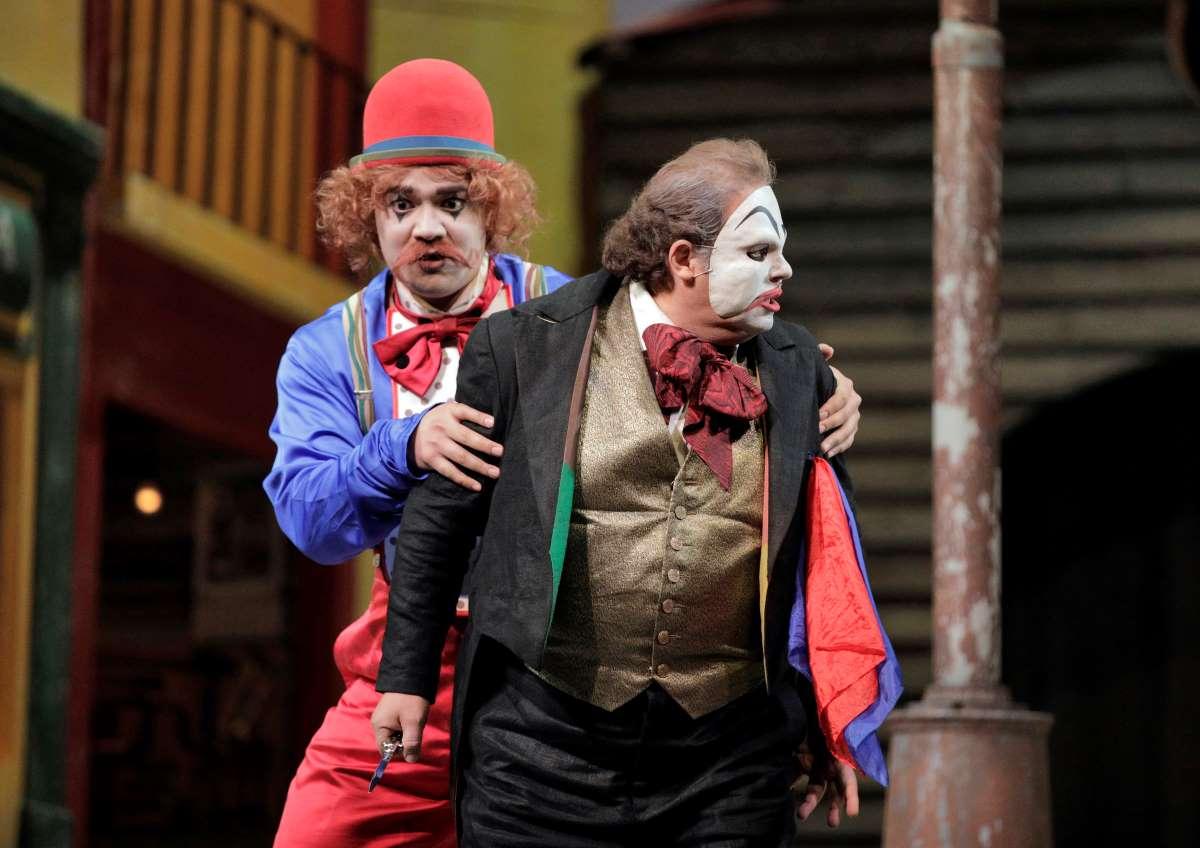 Amitai Pati and Marco Berti in Pagliacci