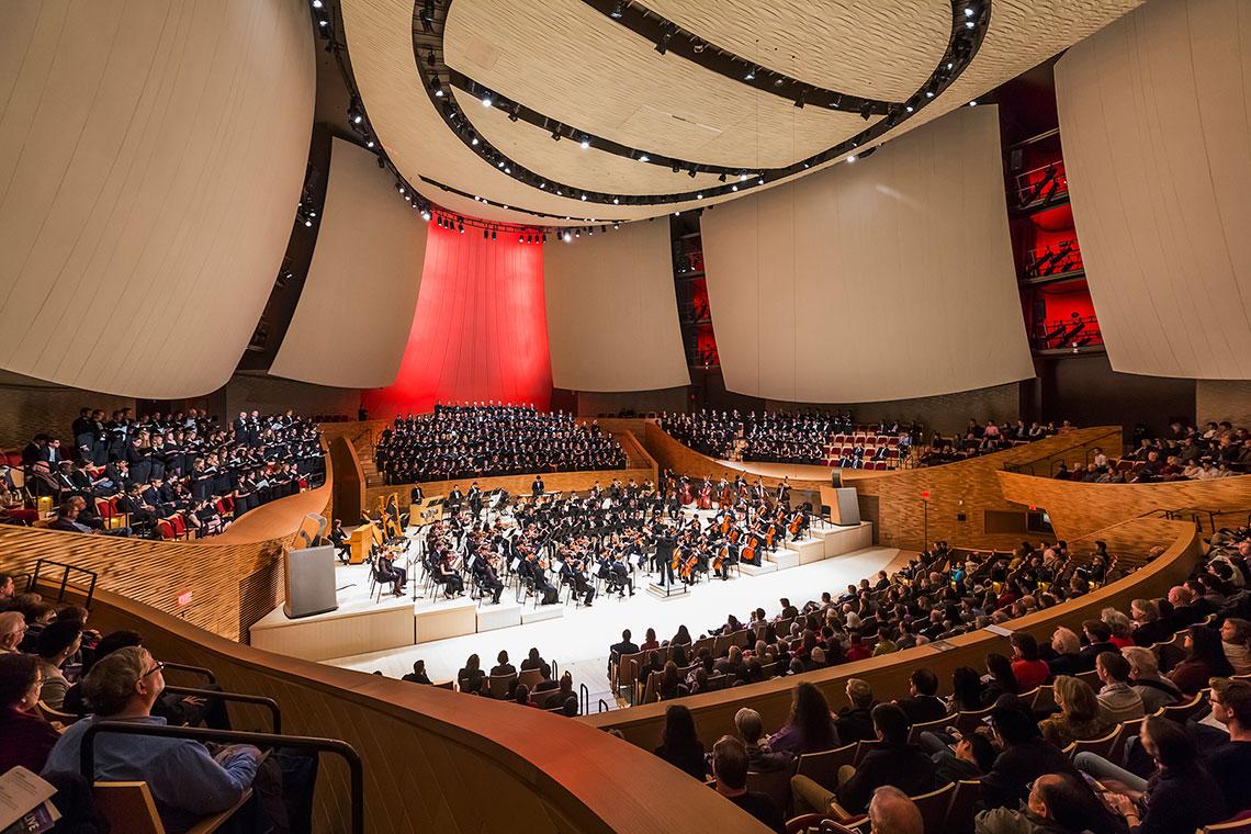 Bing Concert Hall interior