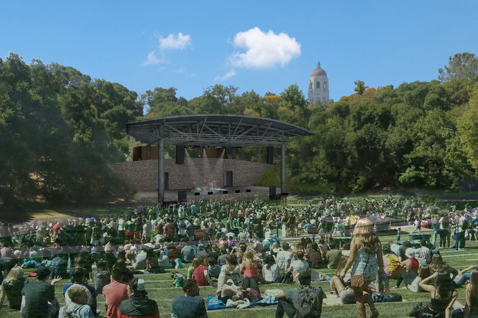 Rendering of Frost Amphitheater