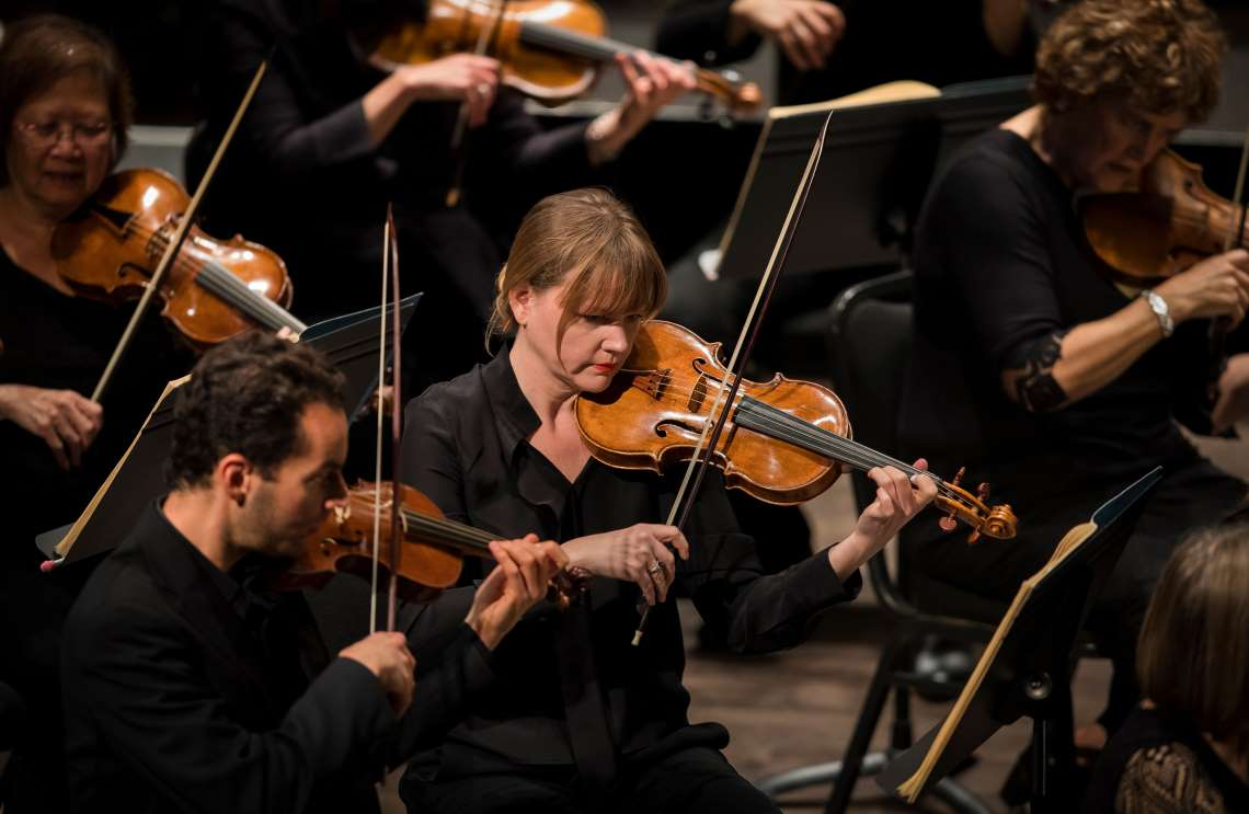 the Philharmonia Baroque Orchestra