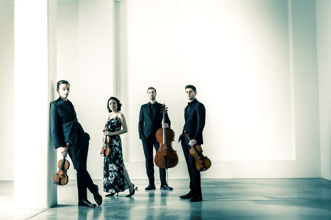 the Tesla Quartet