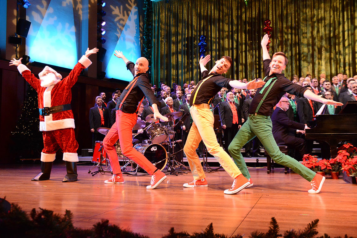 Seattle Men's Chorus - Jingle All the Way