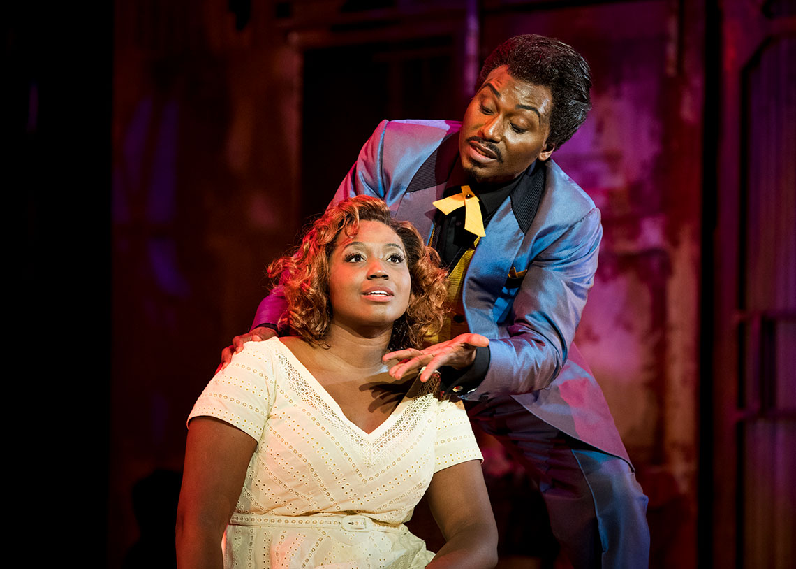 Angel Blue and Jermaine Smith in Porgy and Bess