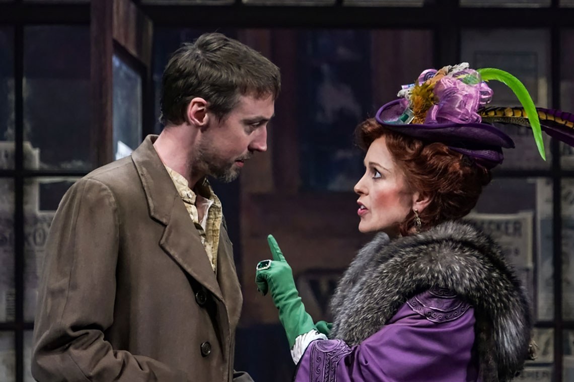 Christopher McLinden and Kirsten Potter in Ibsen in Chicago