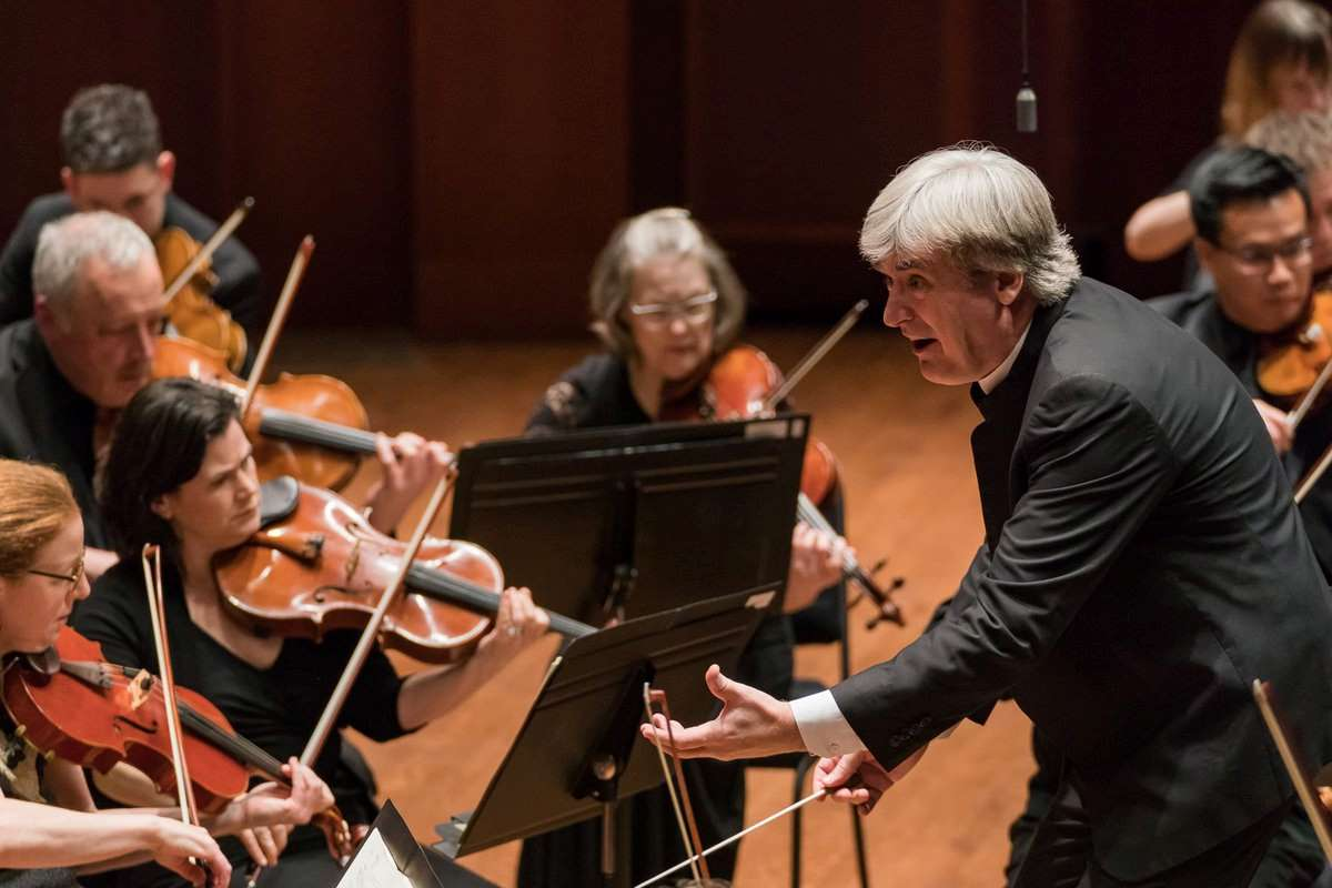Thomas Dausgaard conducting Seattle Symphony