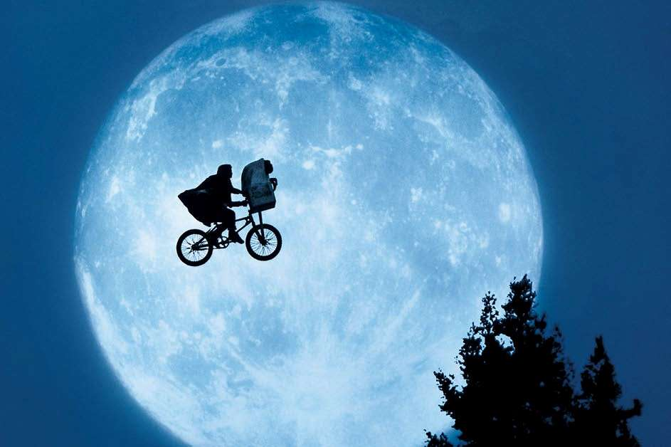 Poster for the film E.T.
