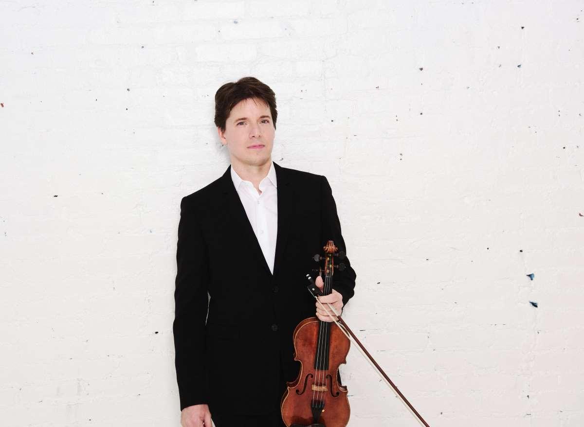 Press photo of Joshua Bell