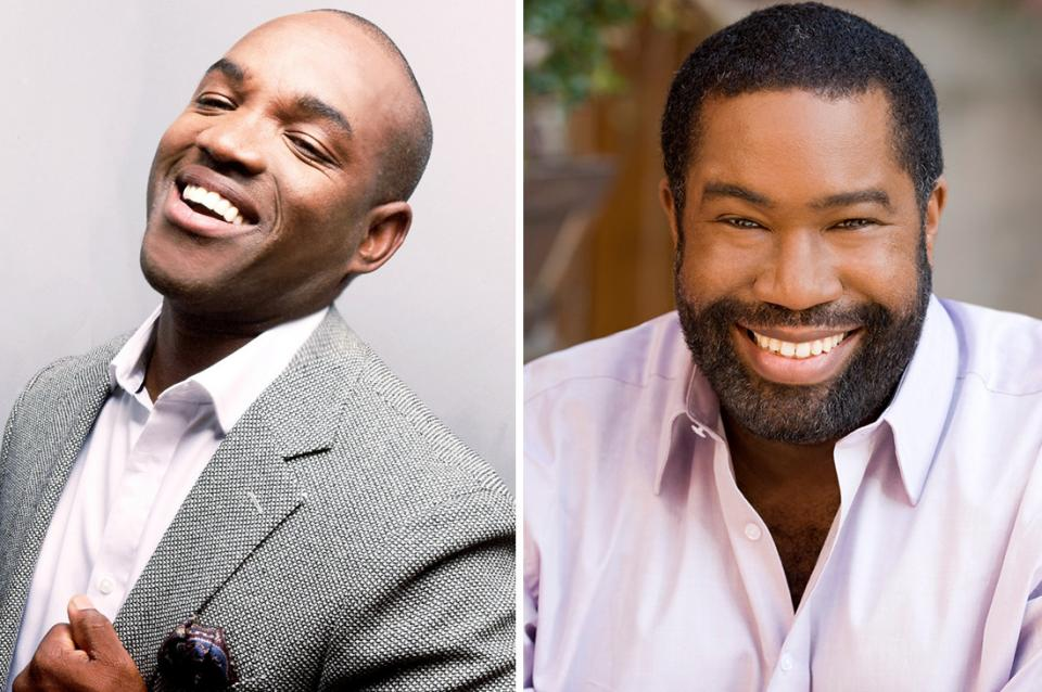 Photos of Lawrence Brownlee (left) and Eric Owens (right)