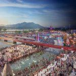 Kumbh Mela Festival, Haridwar, India, Day to Night, 2016