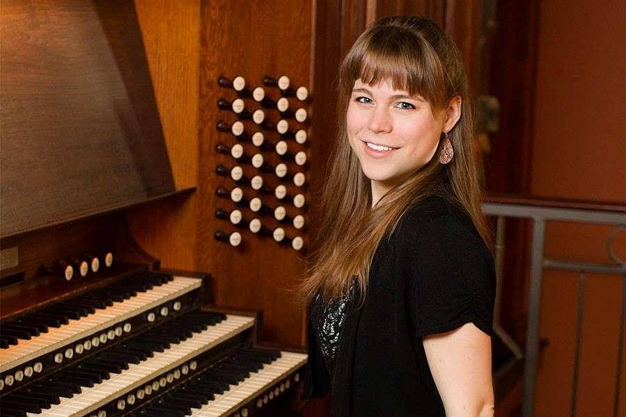 Organist Katelyn Emerson