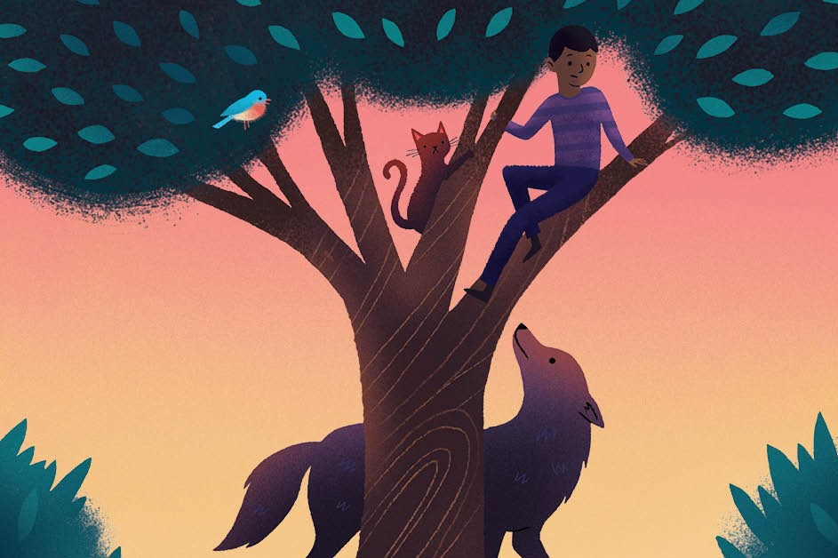Artwork for Peter and the Wolf