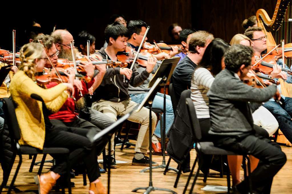 University of Washington Orchestra and members of the Seattle Symphony