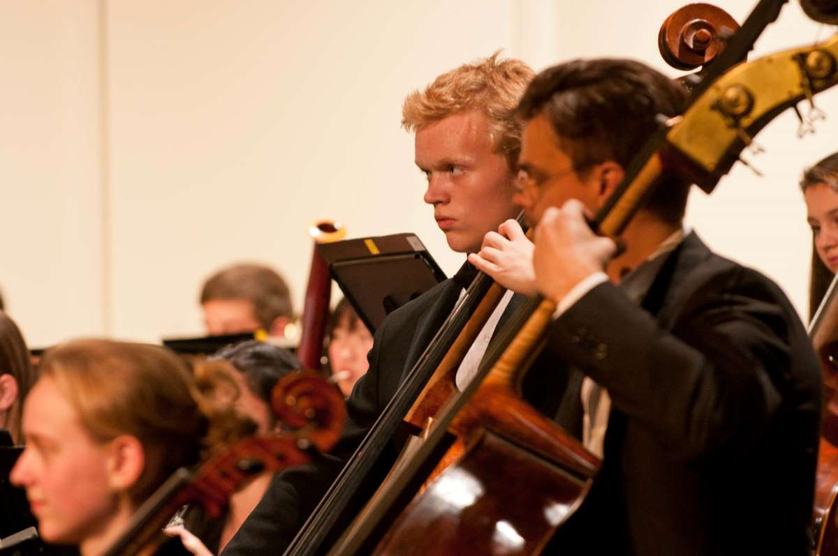 photo of UW Community concert with Seattle Syphony