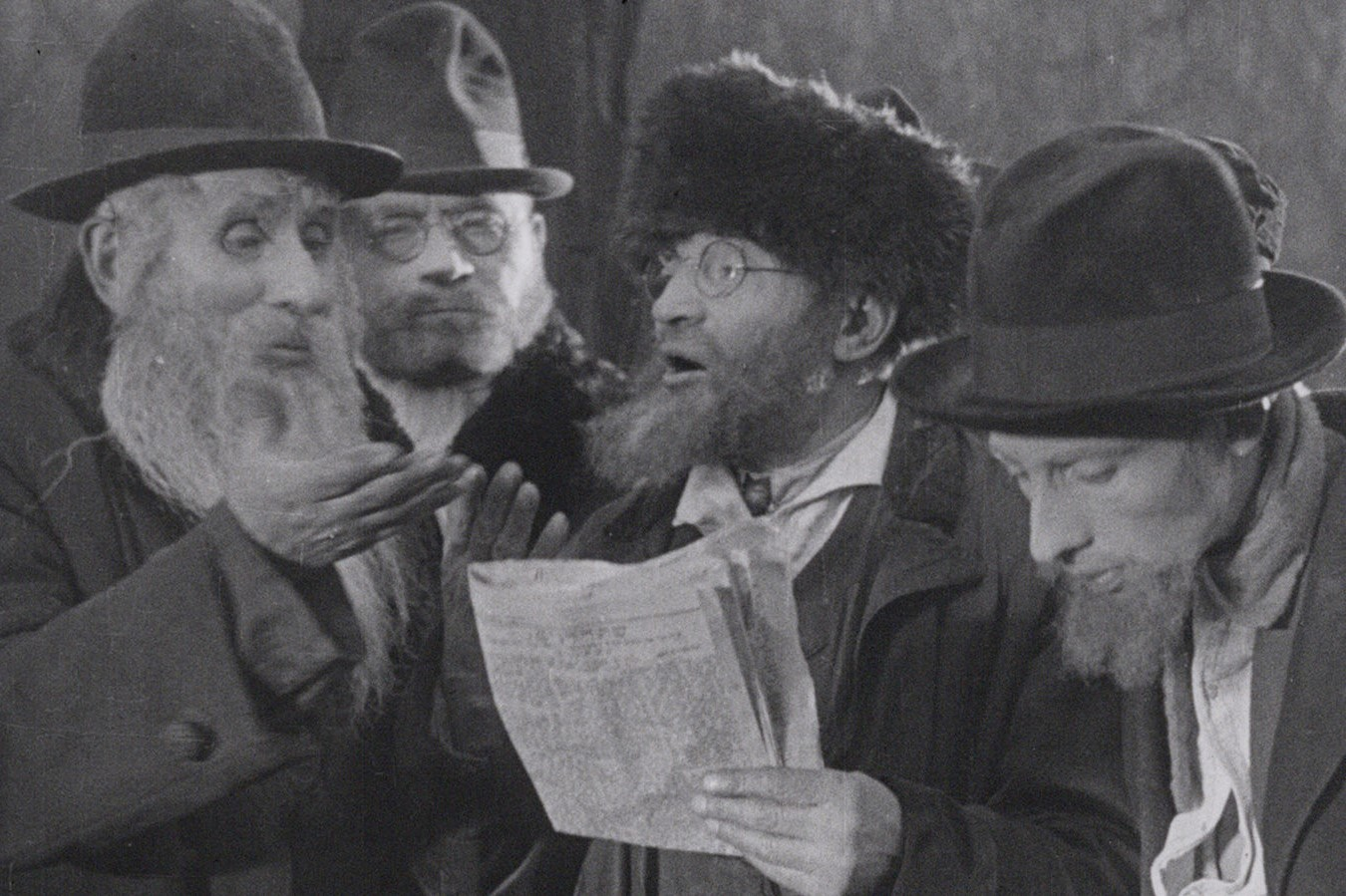 Still from the film The City Without Jews