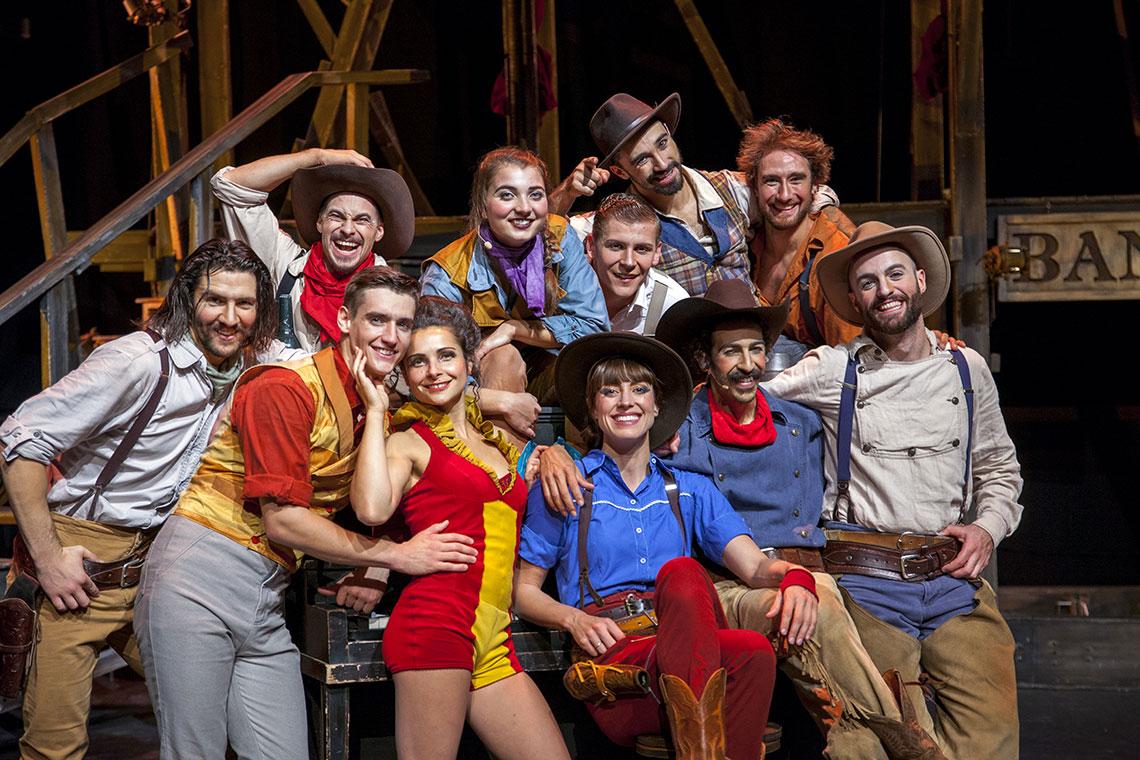 Cast of Cirque Eloize Saloon