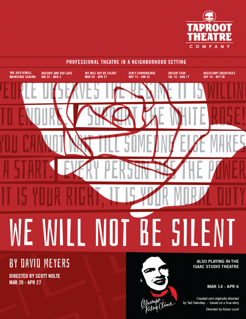 Taproot Theatre Company - We Will Not Be Silent