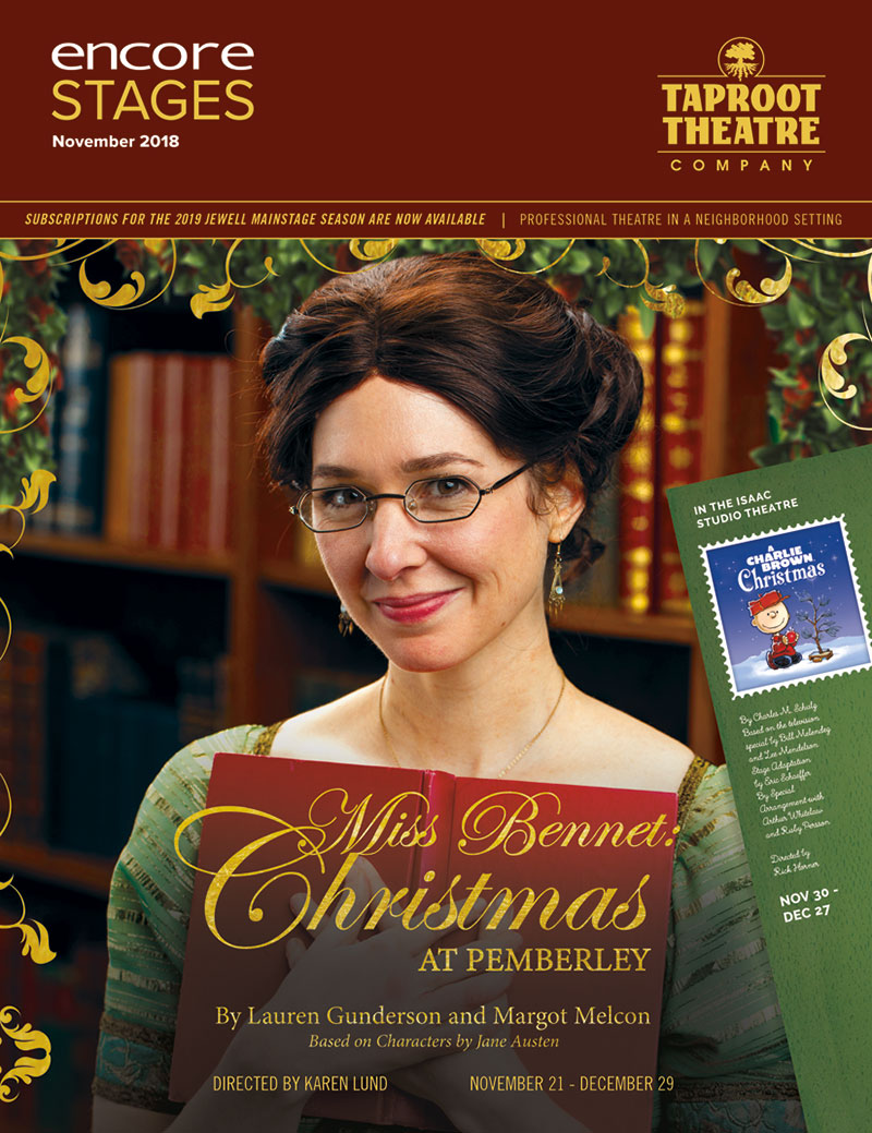 Taproot Theatre Company - Miss Bennet: Christmas at Pemberley