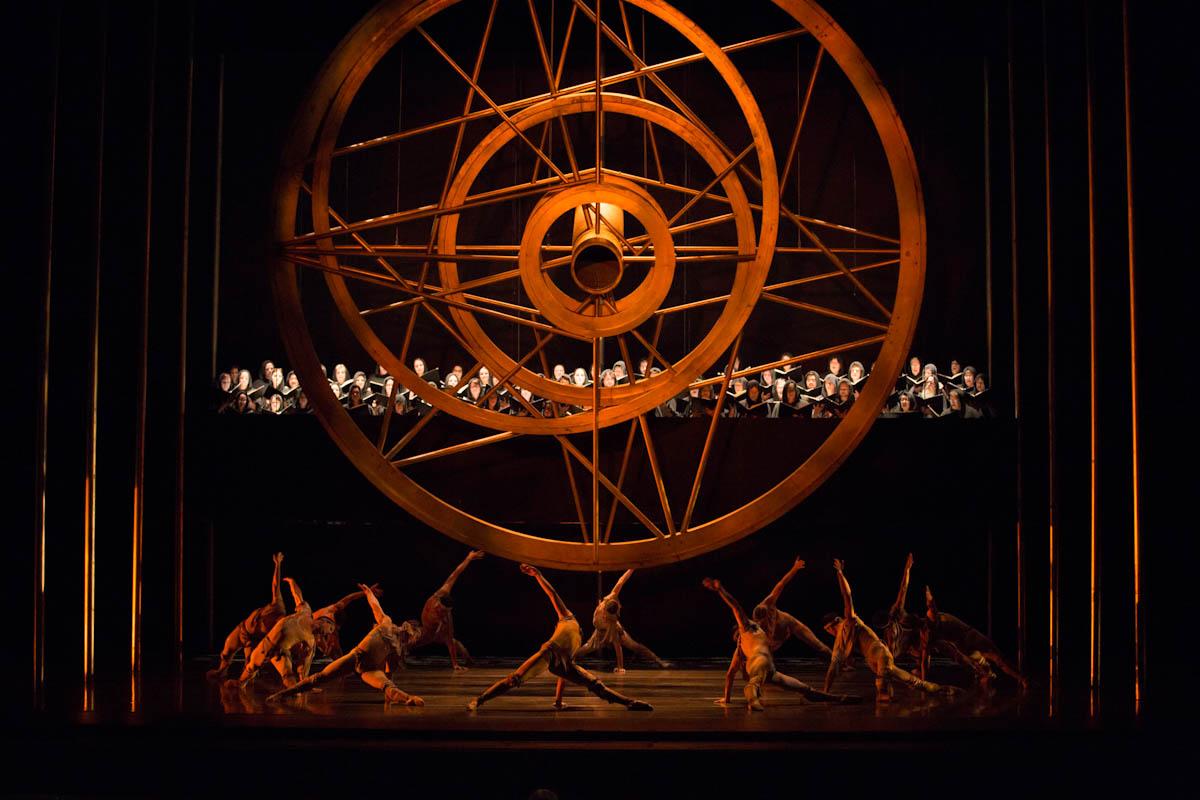 Performance of Kent Stowell's Carmina Burana